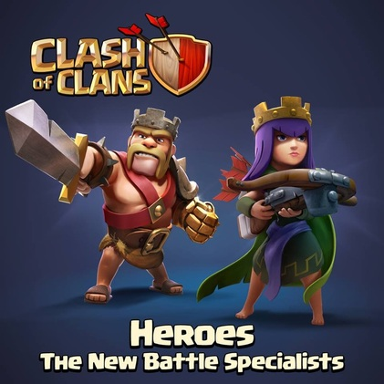 Coc smart heroes update july 2014 clash of clans goonsquadelite