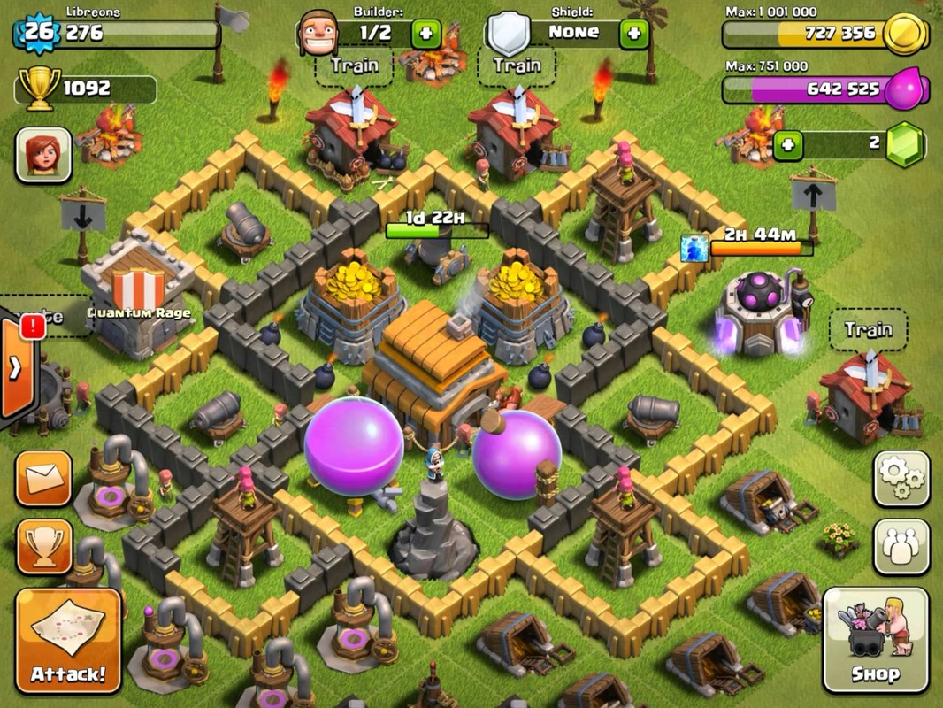 TH5 - Clash of Clans