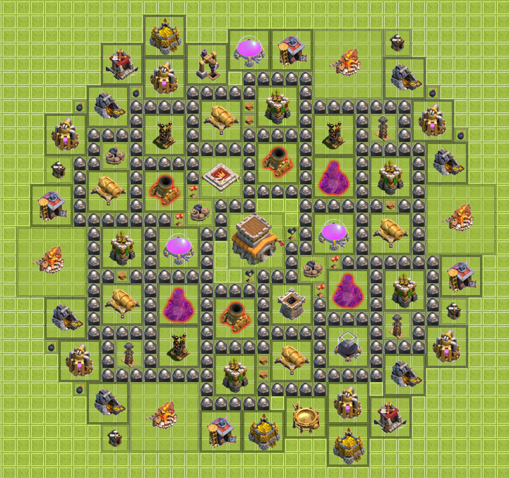Th8 clash of clans goonsquadelite