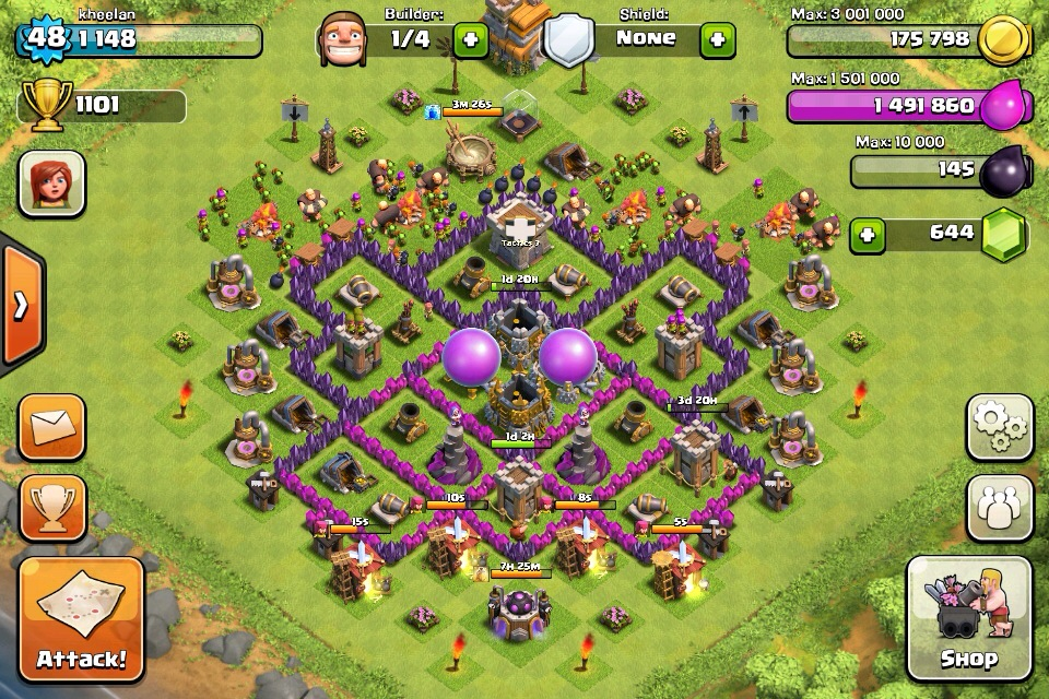 Th7 Clash Of Clans Goonsquadelite